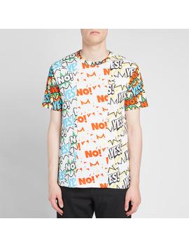 comme-des-garcons-shirt-vertical-comic-print-tee by comme-des-garçons-shirt