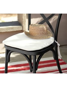 Sunbrella® Bistro Chair & Barstool Cushion by Pottery Barn
