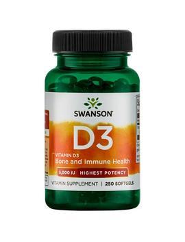 Vitamin D 3   Highest Potency by Swanson Premium