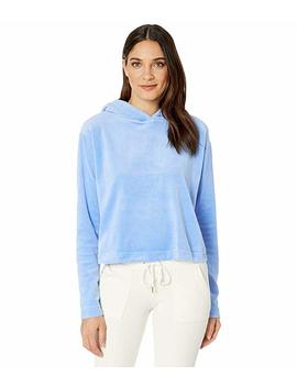 Velour Hooded Pullover by Juicy Couture
