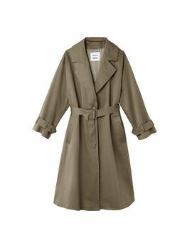 Long Oversize Trench Coat by KochÉ X La Redoute