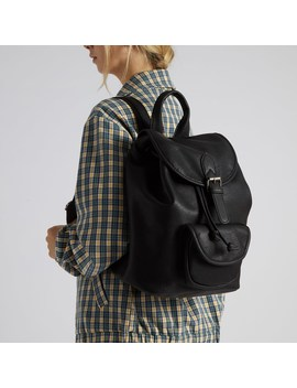 Women's Kat Backpack In Black by Little Burgundy