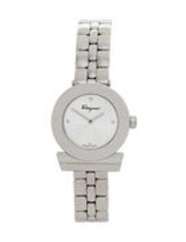 Sfpd00619 Silver Tone Watch by Salvatore Ferragamo