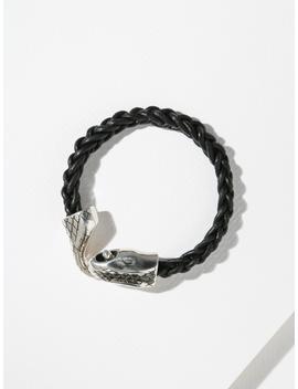 The Rattlesnake Bracelet   Silver by Vanessa Mooney