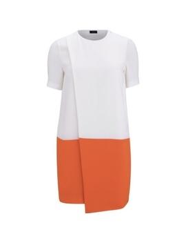 Joseph (London) Short Sleeve Overlay Dress by Joseph