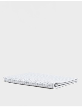 Classic Full/Queen Duvet Cover In Graphite Grid by Brooklinen
