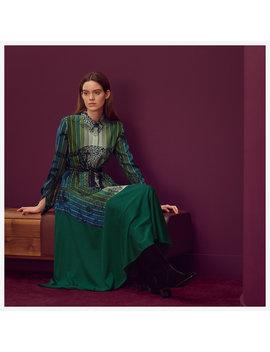 """Jungle Love Rainbow"" Esprit Chemise Twillaine Dress by Hermès"