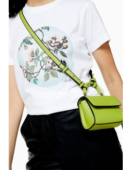 Cindy Lime Mini Cross Body Bag by Topshop