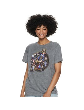 Juniors' Marvel's Avengers Logo Graphic Tee by Non Licensed