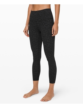 """Wunder Under High Rise Tight 25"""" Full On Luxtreme New by Lululemon"""