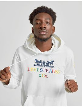 Levis 2 Horse Logo Overhead Hoodie by Levis