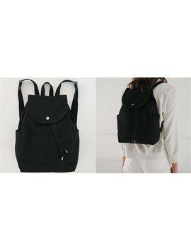 Baggu Drawstring Backpack Black by Baggu