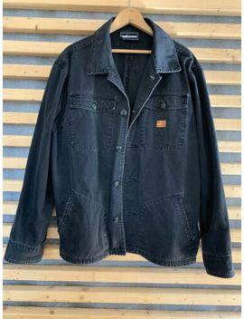 The Hundreds Black Shirt Jacket Chore Coat Work Shirt by The Hundreds