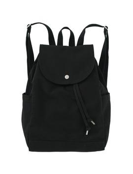 Baggu Drawstring Backpack In Black by Well