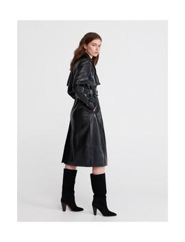 Palton Cu Curea Pentru Femei by Reserved