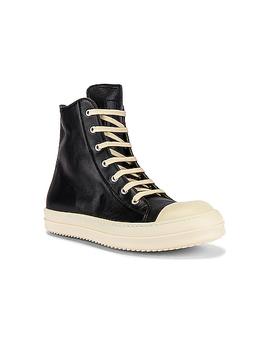 Hi Top Sneaker by Rick Owens