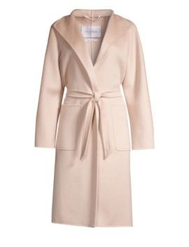 Lilia Cashmere Belted Wrap Coat by Max Mara