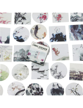 40 Pcs / Pack, Japanese Stickers Mini Style Paper Seal Sticker / Diy Decoration Label by Ali Express.Com