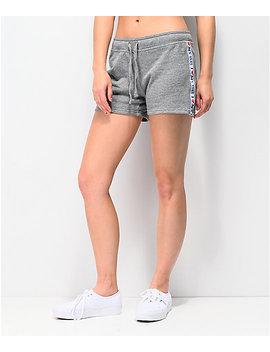 Vans Dna Tape Grey Sweat Shorts by Vans