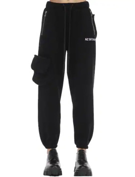 Heavy Cotton Jersey Pants by Natasha Zinko