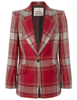 Lou Lou Tartan Wool Blazer by Vivienne Westwood