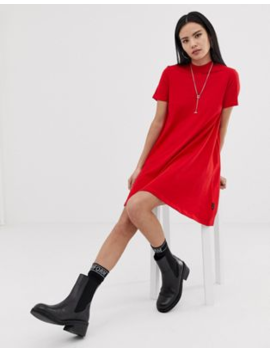 Cheap Monday – Mystic – Ausgestelltes T Shirt Kleid Mit Logo by Asos