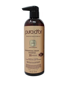 Professional Grade Anti Thinning Shampoo   2 X Concentrated by Pura D'or
