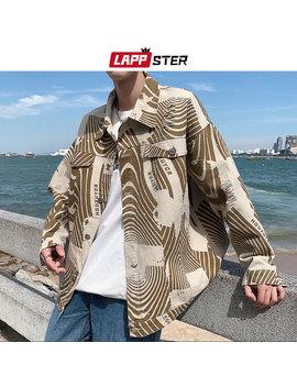 Lappster Streetwear Vintage Jeans Jacket Men 2019 Mens Harajuku Hip Hop Windbreaker Male Fashion Denim Jackets Designer Coats by Ali Express.Com