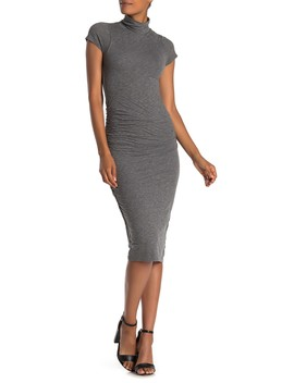 Valda Gauzy Whisper Midi Dress by Velvet By Graham & Spencer