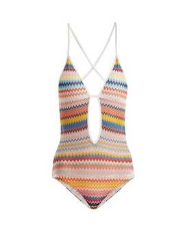 Zigzag Knit Swimsuit by Missoni Mare