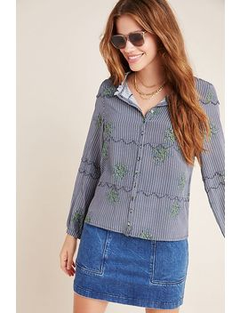 Stella Embroidered Blouse by Dolan Left Coast