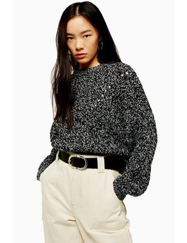Recycled Knitted Jumper by Topshop