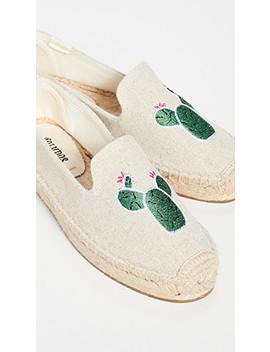 Cactus Smoking Slipper Espadrilles by Soludos