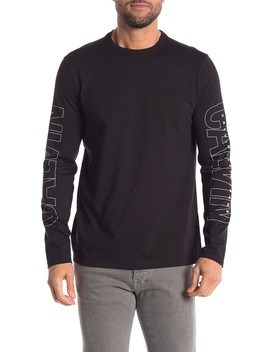 Logo Long Sleeve T Shirt by Calvin Klein