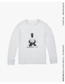 Paul Mpagi Sepuya Portrait Long Sleeve T Shirt by Helmut Lang