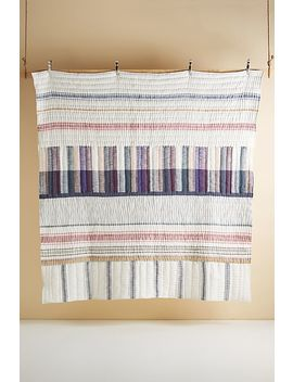 Woven Starling Quilt by Anthropologie
