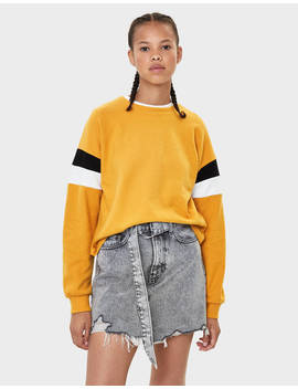Round Neck Sweater  Null   Bershka Ireland by Bershka