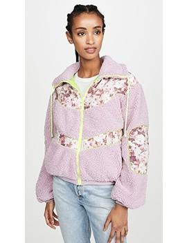 Sloane Shearling Jacket by For Love & Lemons
