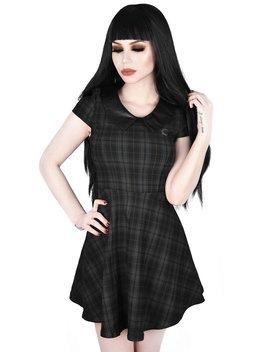 Darklands Doll Dress [Tartan] by Killstar