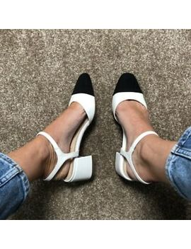 Brand New Topshop Monochrome Jolene Shoe Size 5 by Topshop