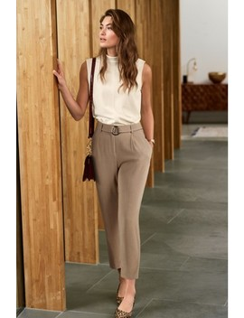Belted Trousers by Next