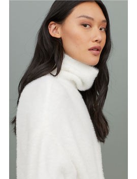 Fluffy Turtleneck Sweater by H&M