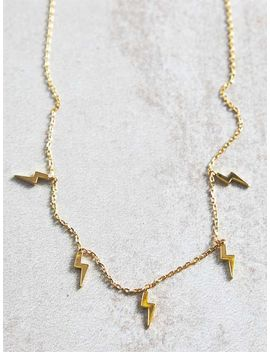 Bolt Necklace by Altar'd State