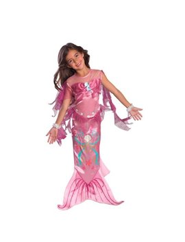 Girls Pink Mermaid Costume by Mermaids