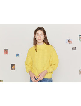 Sweater. Type A, Version 6. Yellow. by Entireworld