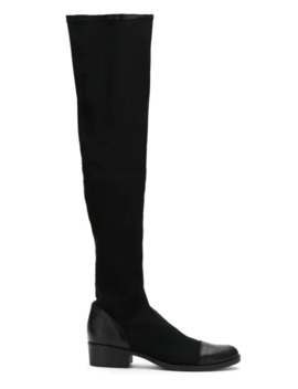 Thigh High Stretch Boots by Schutz