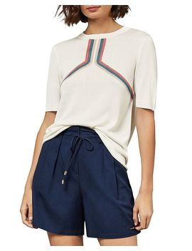 Sila Color By Numbers Striped Knit Top by Colour By Numbers By Ted Baker