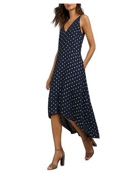 Printaa Metallic Dot Maxi Dress by Ted Baker
