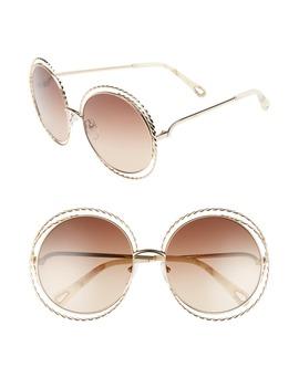 Carlina Torsade 58mm Round Sunglasses by ChloÉ