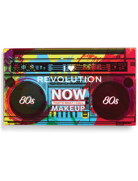 Online Only That's What I Call Makeup 80's Eyeshadow Palette by I Heart Revolution